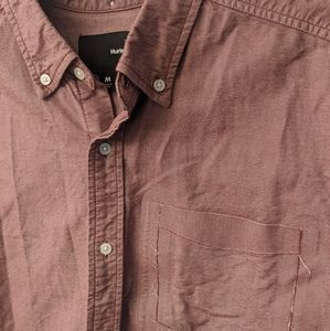 Hurley Short Sleeve Button Up